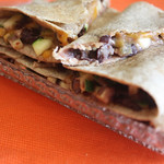 Easy Black Bean Zucchini Quesadillas