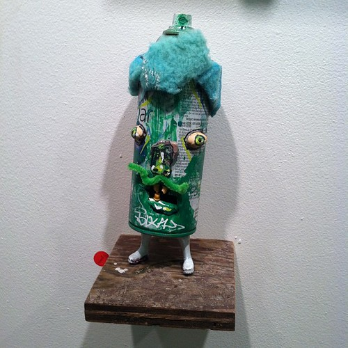 #mygoodness #trenton #artshow #219gallery #luv1 #luvdgoods #recycled #assemblage #sculpture