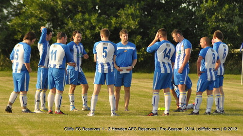 Cliffe FC 2ndXI 1 - 2 Howden AFC Reserves (Pre-Season) 17Jul13