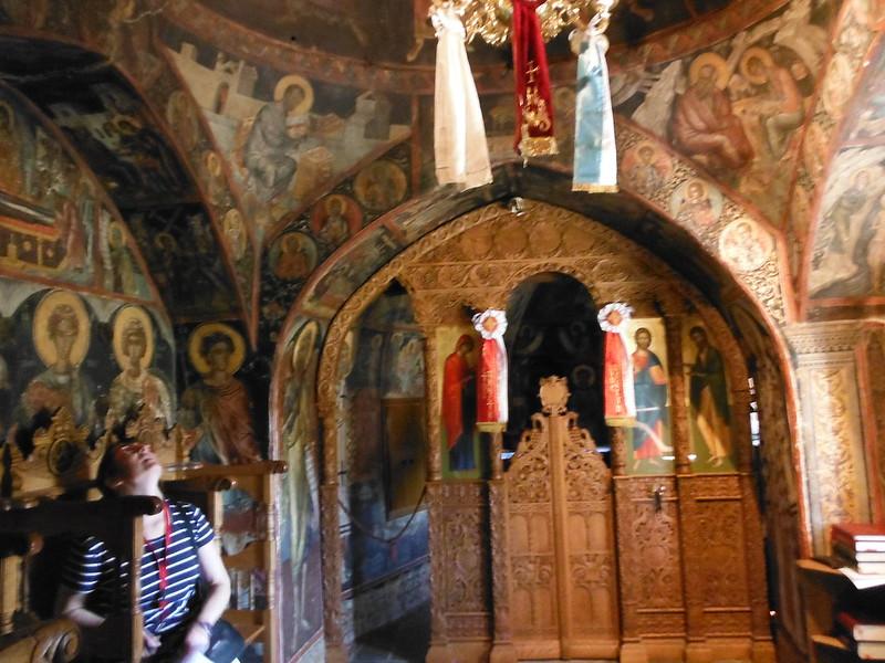 Monasterio Agios Nikolaos, en Grecia.