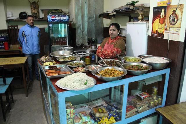Newari Food in Nepal