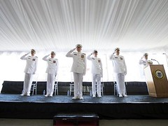 Adm. Papp attends D13 Change of Command