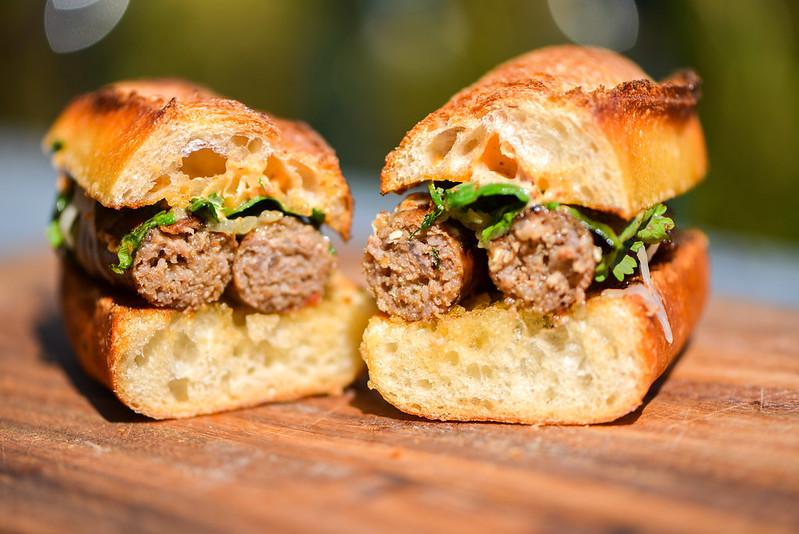 Merguez Sandwich