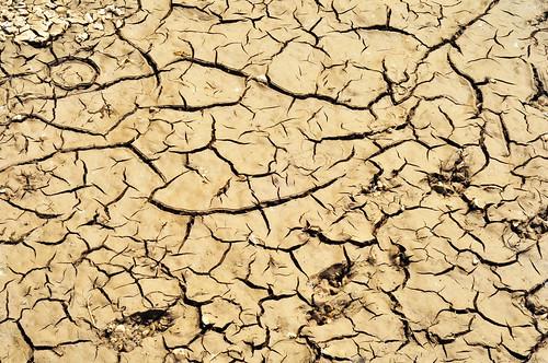 Gesprungene Erde Wasser Trockenheit