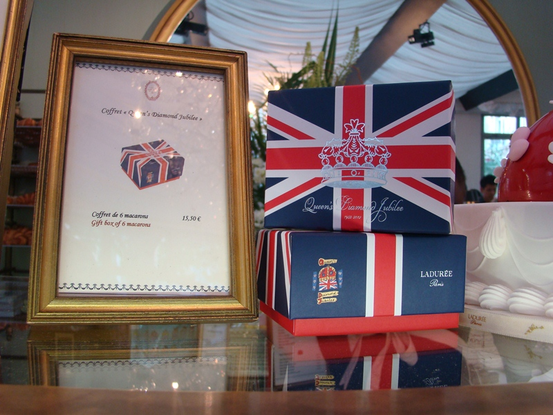 Laduree Union Jack