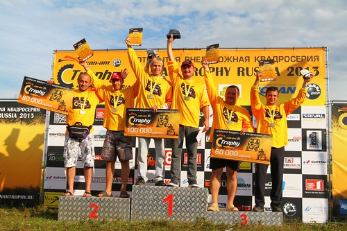 Can-Am Trophy Russia 2013 stage 2 results