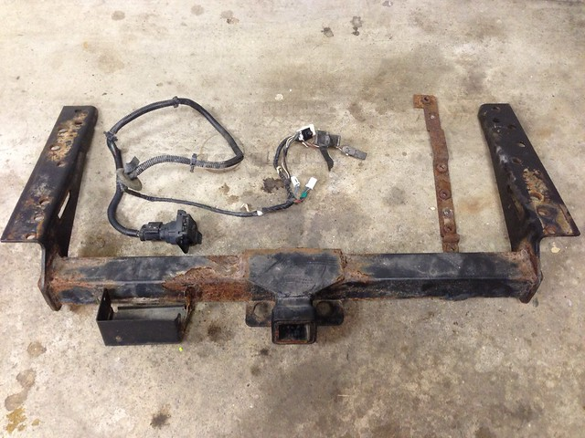 2001 Jeep Cherokee Factory Trailer Wiring Harness And Hitch