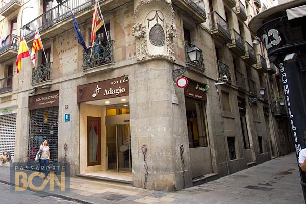 Hotel Adagio, Barcelona