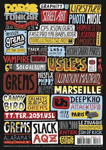 Paris Tonkar magazine #8 by Pegasus & Co