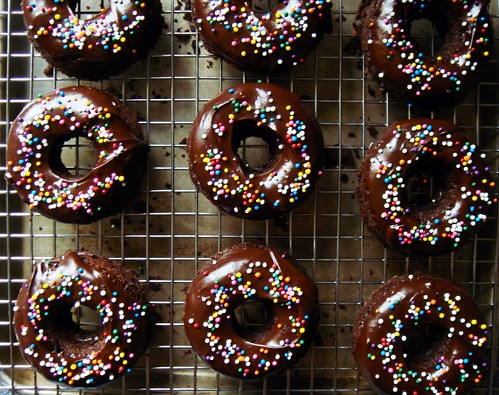 Fudgy Mexican Chocolate Doughnut