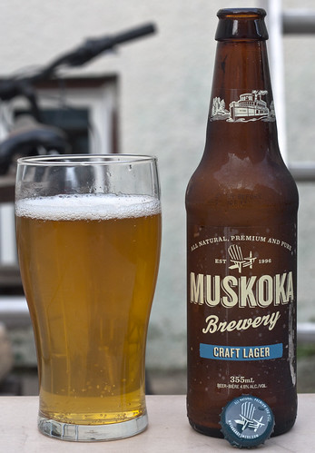 Review: Muskoka Craft Lager by Cody La Bière