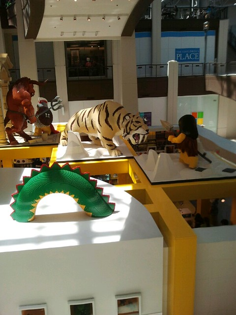 Lego Store in Mall of America