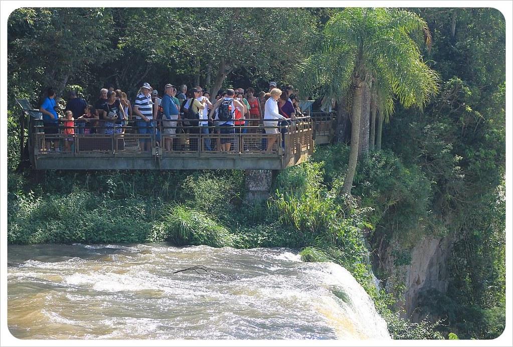 iguazu falls viewing platform argentina