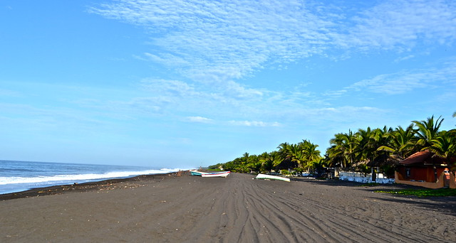places to visit in guatemala - Monterrico Beach