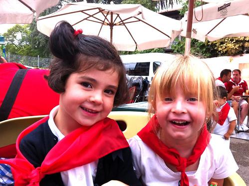 Claudia and Nora in Ampuero