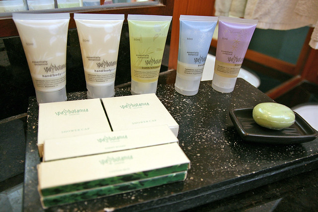 Spa Botanica amenities