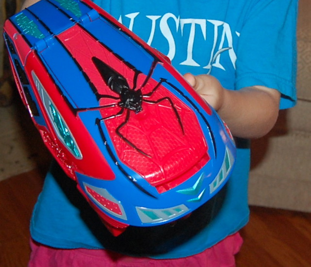 The Amazing Spider-Man 2 Motorized Spider Force Web Blaster