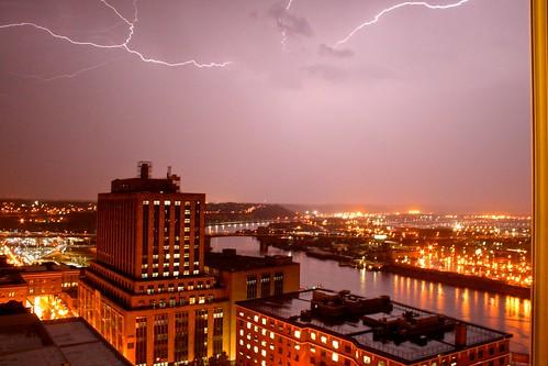 sky storm minnesota night canon mississippi nightshot stpaul lightning xti canon1855mmf3556 400d