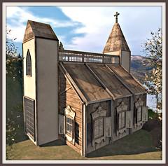 Scarlet Creative Neva Chapel NEW!!