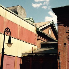 Rooflines. #igersboston #rust #brick #architecture #light
