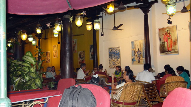For dinner we went to a French restaurant called Satsang. Great ambience, amazing food and reasonably priced.