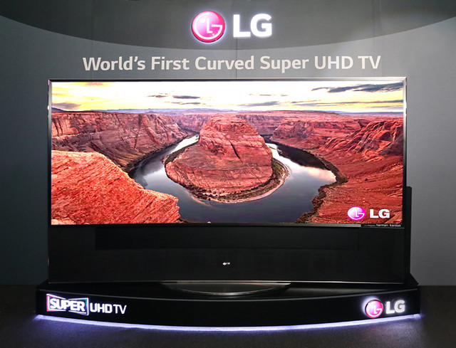 LG Curved Super Ultra HD TV 105UC9