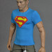 Sixth scale Hot Toys TTM 19 collectible figure in light blue round neck T shirt inspired by Christopher Reeve Superman by Hegemony77 - 1/6th scale clothes