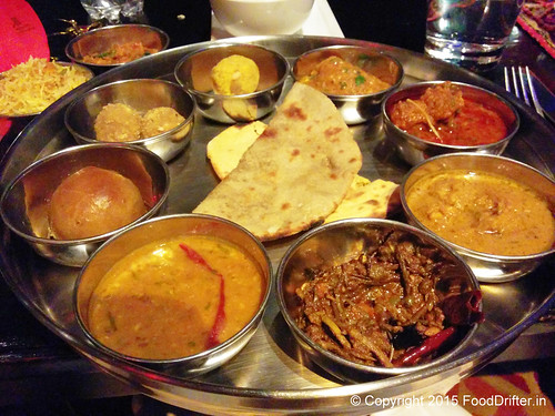 Rajasthani Thali At Bidri