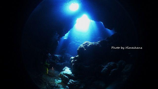 西表の洞窟