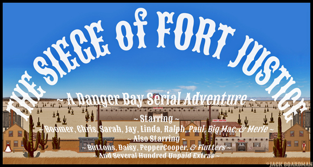 Siege of Fort Justice Banner