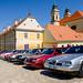 Alfa Romeo club meeting on Valtice Castle