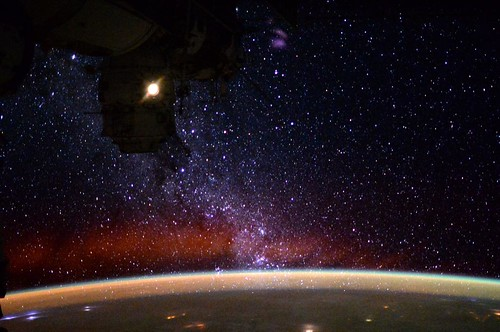 The view of our Galaxy from space. http://t.co/AUUkrz6EgY