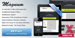 Preview Magnum - Responsive HTML Email Templates Agung Joseph