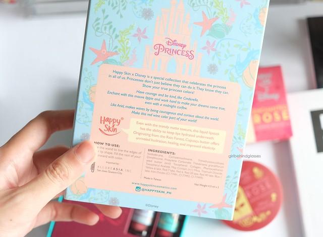 Happy Skin x Disney Princess Liquid Matte Lipstick Set in Cinderella and Ariel3