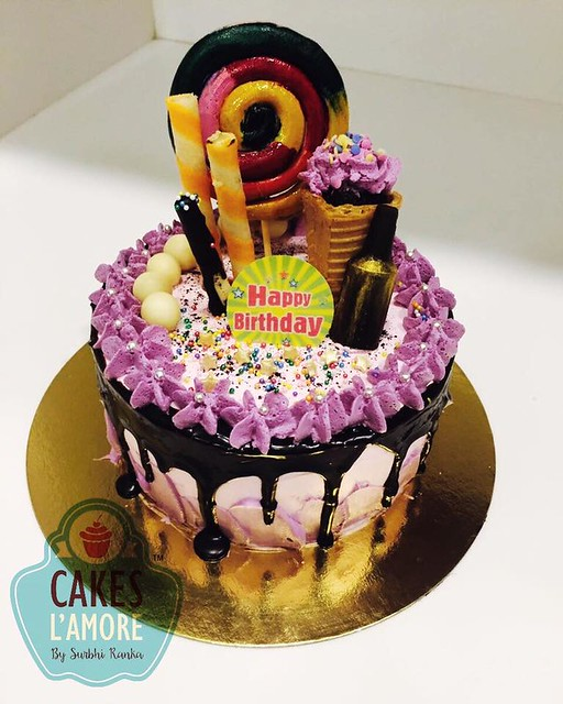 Drip Cake by Cakes l'amore