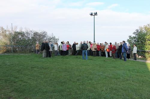 Gruppenbild vor der Kapelle