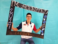 Congratulations to Ruben Padilla who got accepted to the University of Texas at San Antonio in San Antonio, Texas! #CollegeBound #CollegeBoundBulldogs #Somerset2017