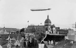 Luftschiff Graf Zeppelin über Oldenburg am 17.9.1929