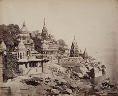 The Burning Ghat, Benares