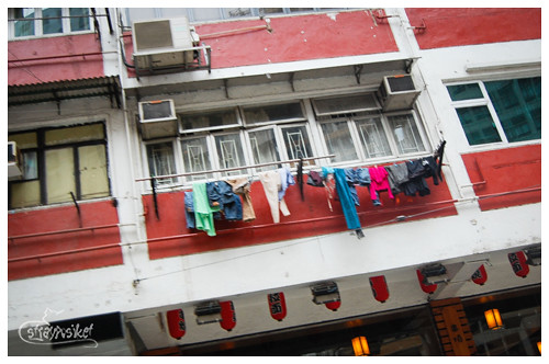 the art of hanging clothes