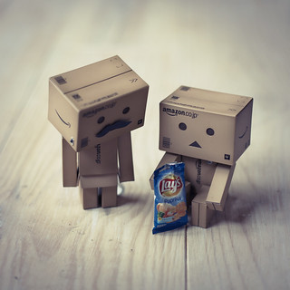 Chips in Danbo sized bags!