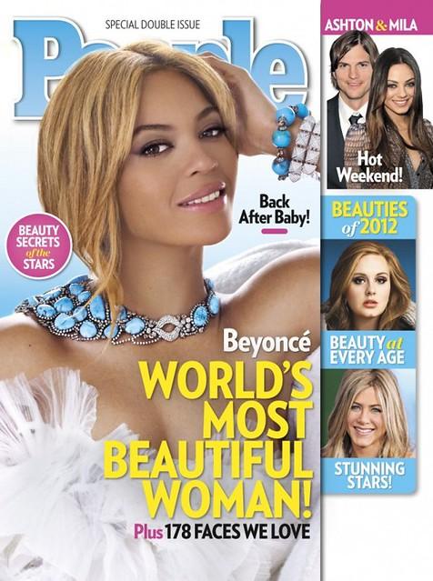 Beyoncé: H πιο όμορφη γυναίκα του 2012