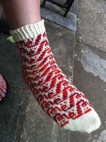 Sock Madness 2012 - round 4