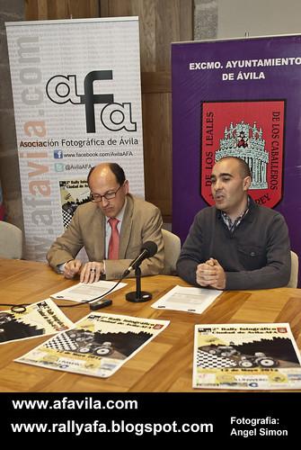 Presentación Oficial del II Rally Fotográfico Ciudad de Ávila-AFA