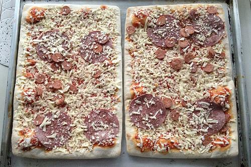 Mama Mancini Familienpizza - Originalbelag