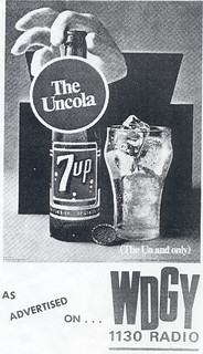 7UP The Uncola on WDGY, 1968
