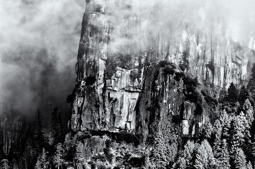 Yosemite valley -2 -05-2011 (b&w)