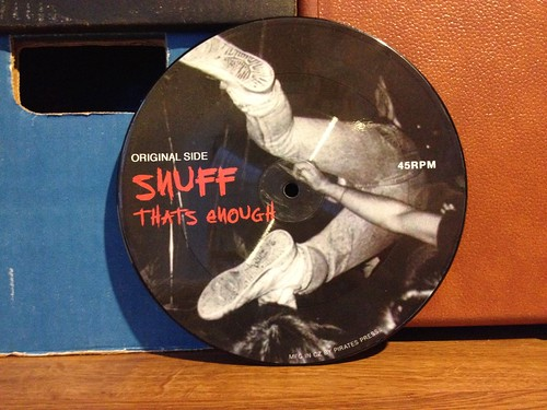 "Snuff / Cokehead Hipsters - Split 7"" - Picture Disc by Tim PopKid"