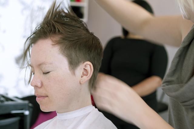 Gaby's haircut #10