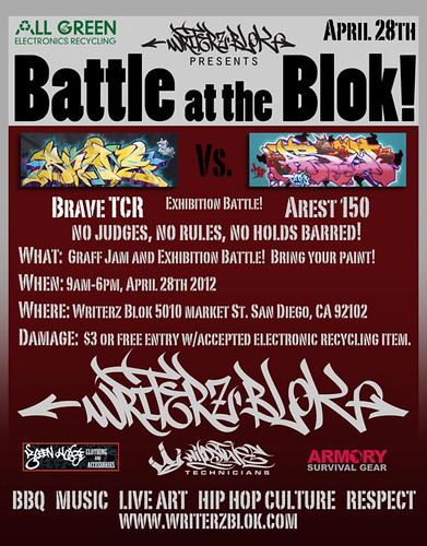 Battle on the Blok!  Brave Vs. Arest 150